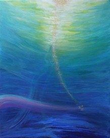 Peinture énergétique - Catherine Stutzmann - Emergence