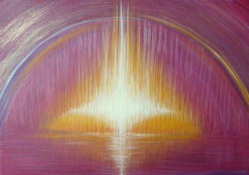 Peinture énergétique - Catherine Stutzmann - Cité lumière