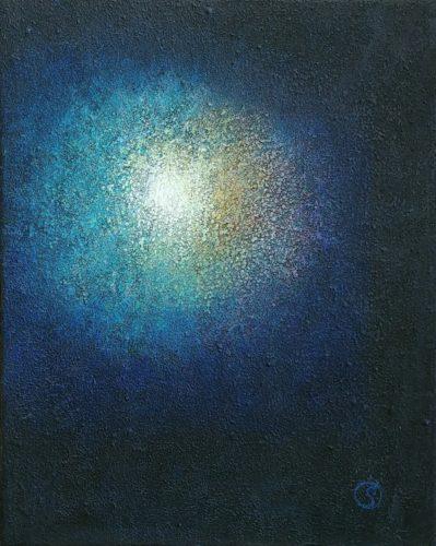 Peinture énergétique - Catherine Stutzmann - Point focal de lumière