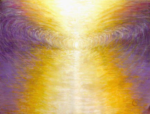 Peinture énergétique - Catherine Stutzmann - Je reçois le Son
