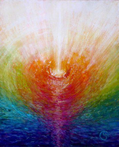 Peinture énergétique - Catherine Stutzmann - Parcours de l'âme