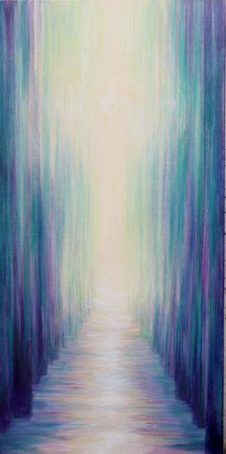Peinture énergétique - Catherine Stutzmann - Chemin du retour
