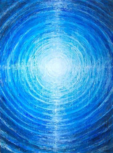 Peinture énergétique - Catherine Stutzmann - Mandala